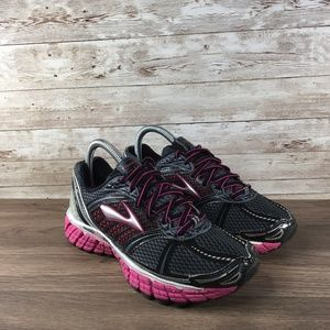 Brooks Trance 12 Pink and Black Running shoes